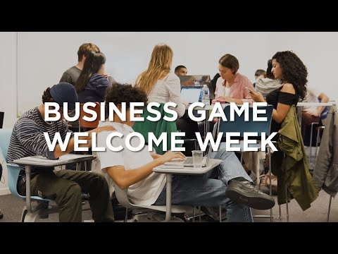 Business Game #WelcomeWeek promo 2024 Pôle Léonard de Vinci