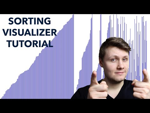 Sorting Visualizer Tutorial (software engineering project)