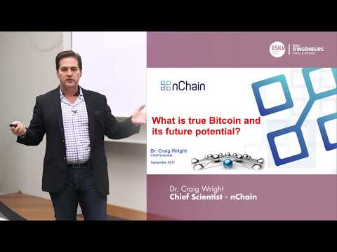 What is true Bitcoin and its future potential ? Dr. Craig Wright