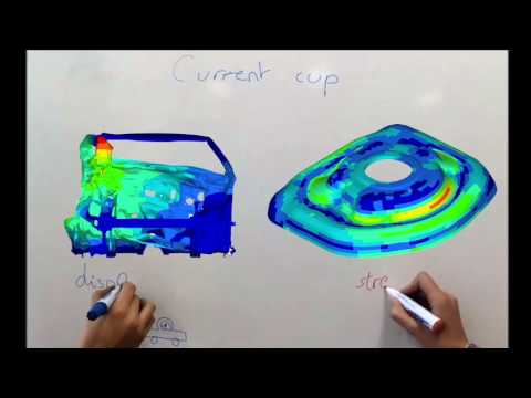 OPTIMIZATION of a suspension cup