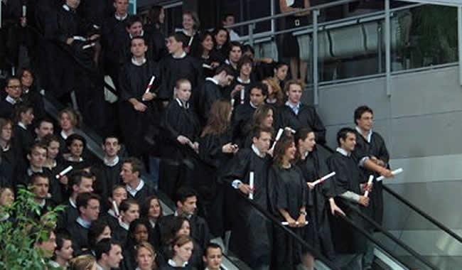 remise des diplômes ingénieurs ESILV 2008