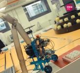 robot, mécanique, électronique et informatique