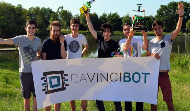 Coupe de france de robotique 2017 davinci bot dans le top 50 ecole d 39 ing nieurs paris la - Coupe de france robotique ...