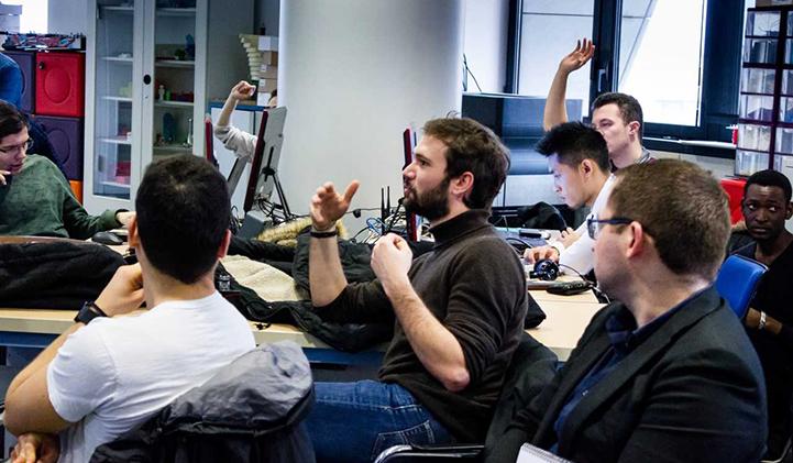 Clément Duhart est à l'initiative de la masterclass IA à l'ESILV