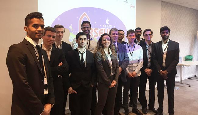 L'association LéoFly a participé au séminaire PERSEUS du CNES