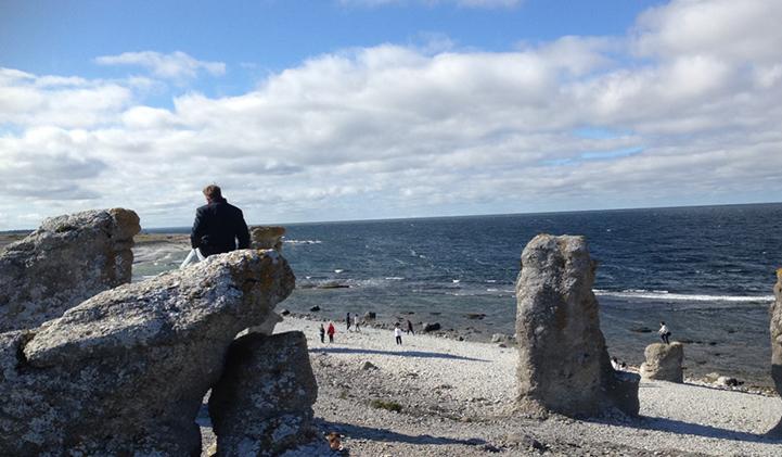 Visite de la petite île de Fårö, à côté de l'île de Gotland
