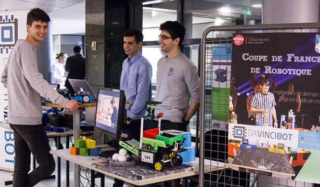 Showroom ESILV des projets d'innovation industrielle de 5e année