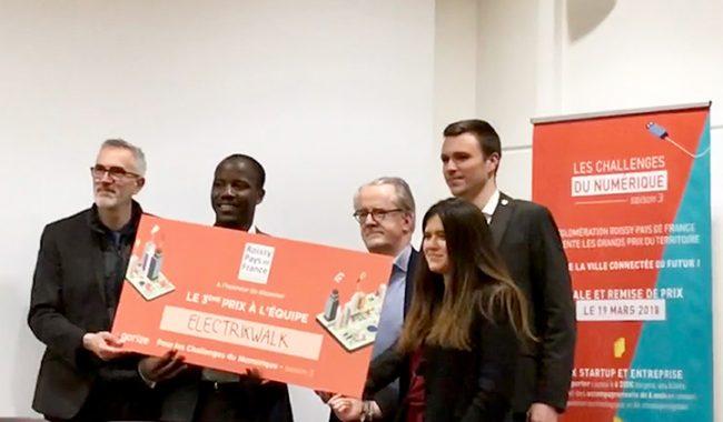 ElectricWalk se classe 3e de la catégorie start-up des Challenges du Numérique