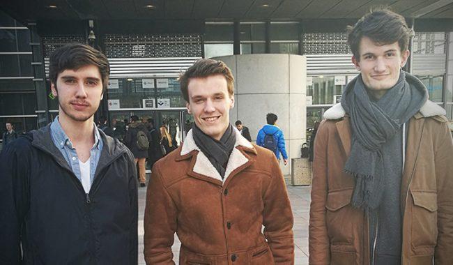 Trois élèves-ingénieurs en finale française de la Microsoft Imagine Cup