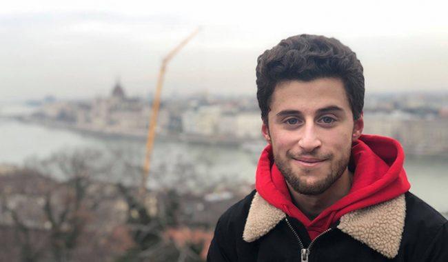 Alexandre, élève-ingénieur à l'ESILV, un semestre d'échange à Budapest