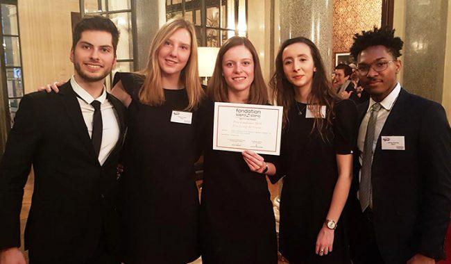 EasyTalk remporte le prix Coup de Coeur du Prix Etudiants 2018 de la Fondation Sopra Steria Institut de France.