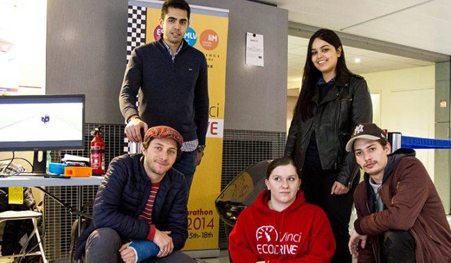 Les élèves-ingénieurs de la promo 2019 ont présenté leurs projets d'innovation industrielle de quatrième année lors d'un showroom sur le campus.