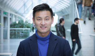 Qiqi Zhang comes from China, he studies at engineering school ESILV in Paris for a semester.