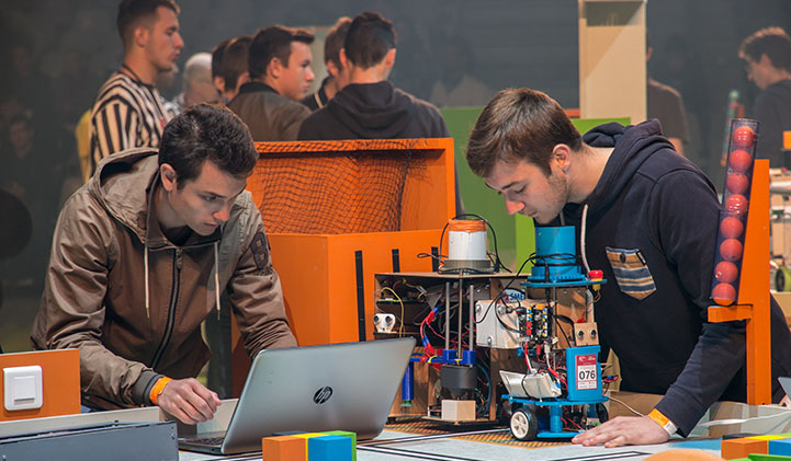 Coupe de France de Robotique