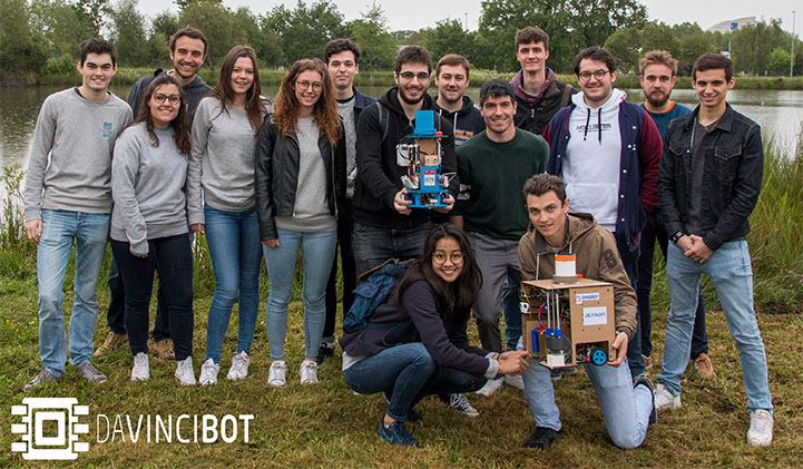 Association robotique DaVinciBot