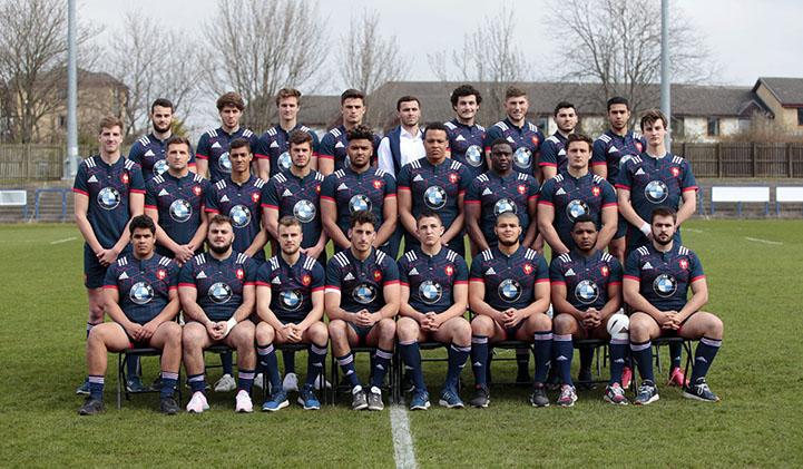 Equipe de France moins de vingt ans developpement rugby