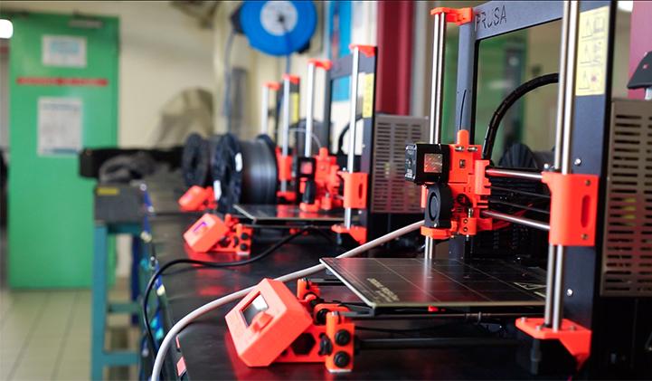 Une imprimante 3D pour construire des maquettes a destination des architectes
