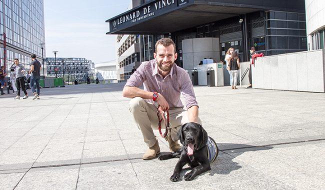 oxley chien guide aveugle esilv