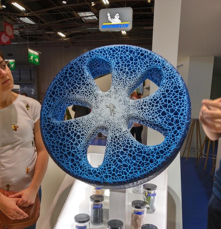 michelin vision concept pneu