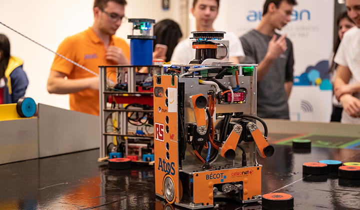 Pre Coupe de France de Robotique 2019