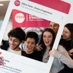 ESiLV engineering school students photo props