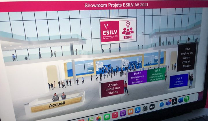 Projets d'ingénieurs : le showroom de la promotion 2021