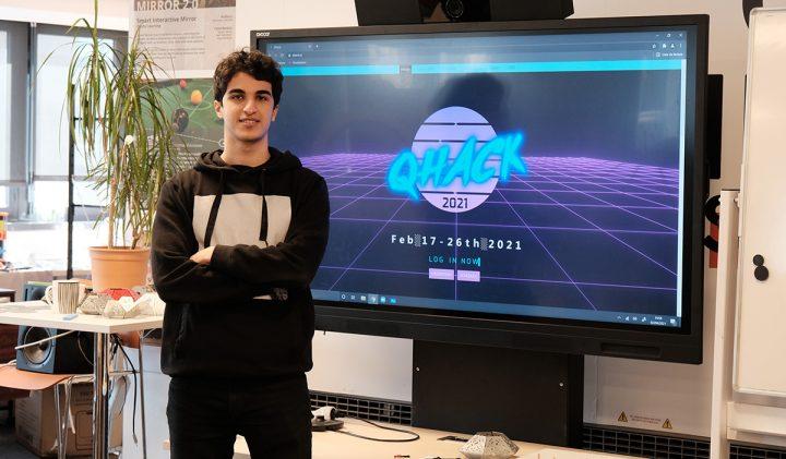 Adem, étudiant ESILV, a participé au QHack 2021, une compétition de quantum machine learning