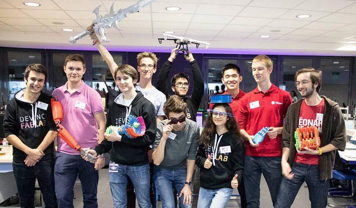 De Vinci FabLab, les génération makers à l'ESILV